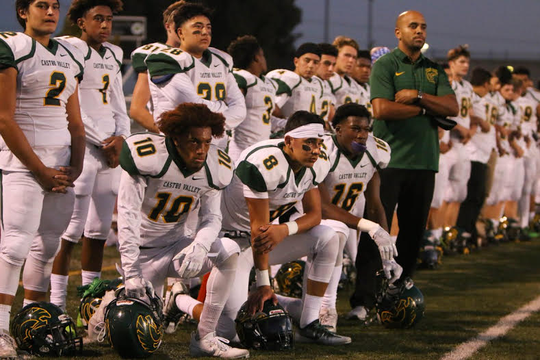 #TakeAKnee comes to CVHS