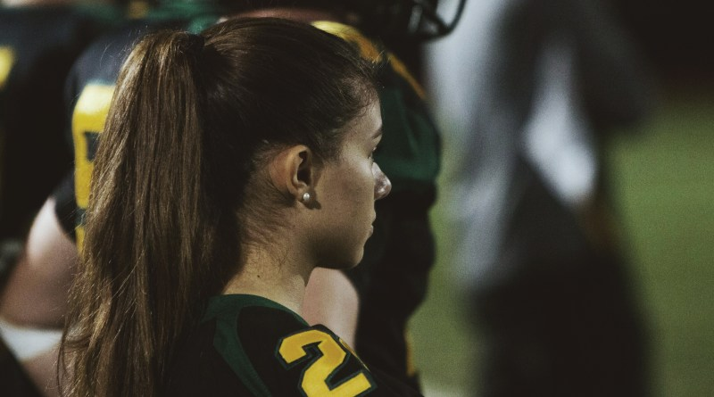 The story behind the first girl on the football team