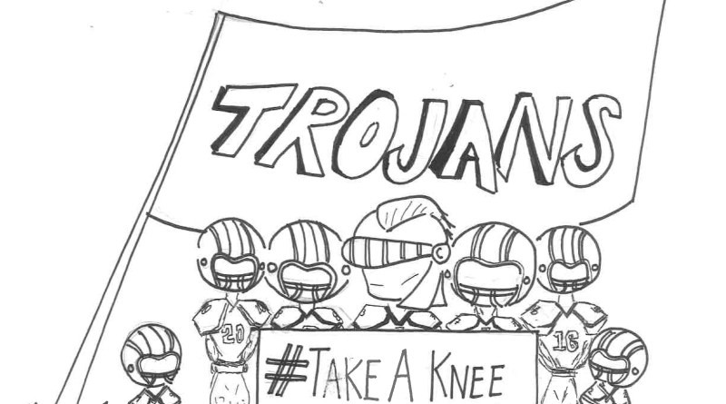 EDITORIAL: Football Players Boldly Protest Racism in Our Country