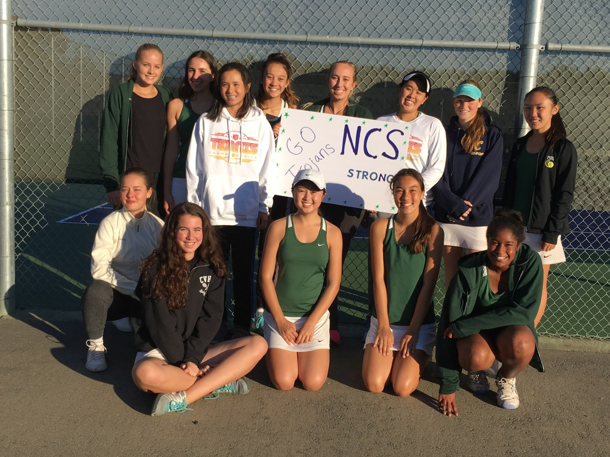 Girls tennis team finishes season strong