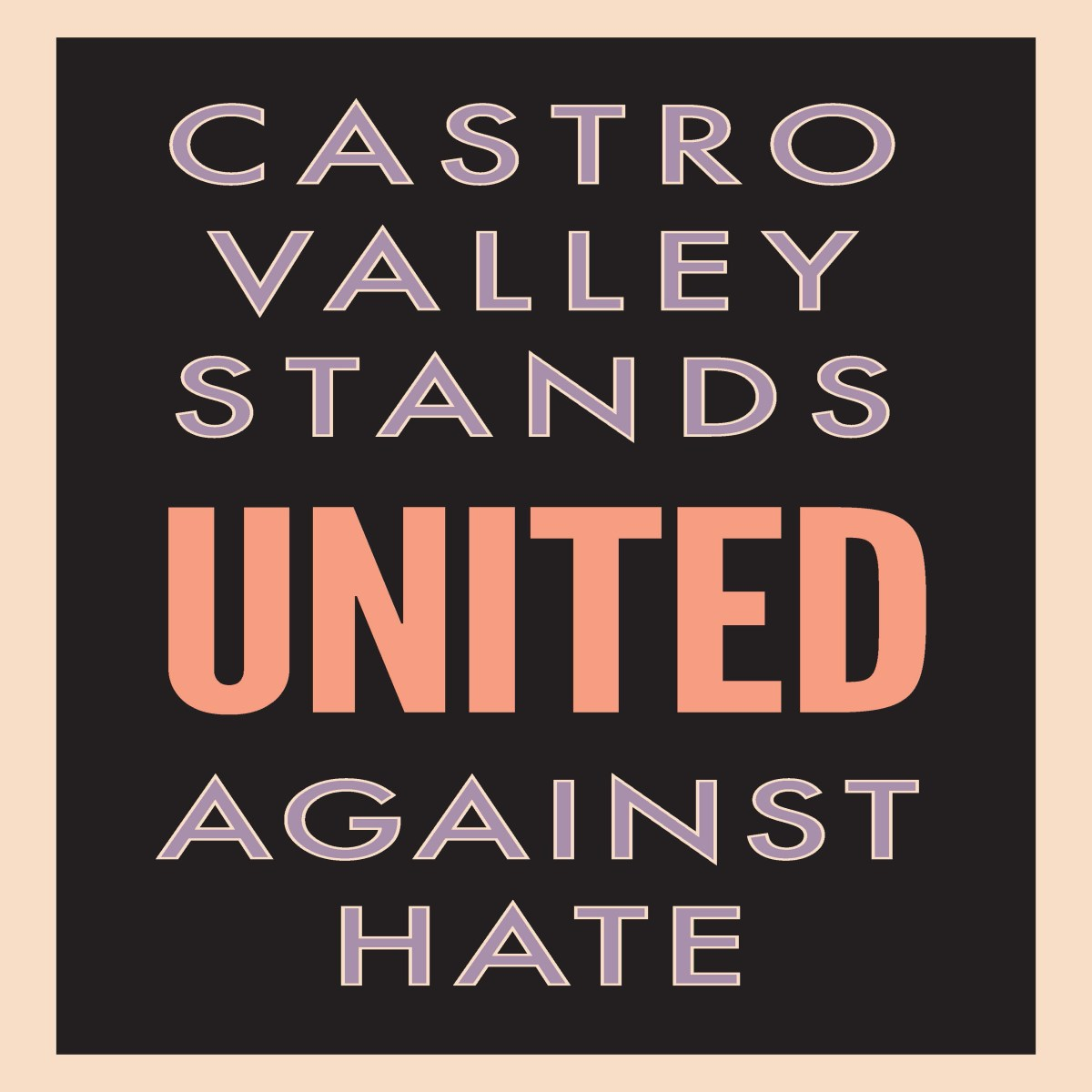 Castro Valley United Against Hate March and Poetry Slam coming up