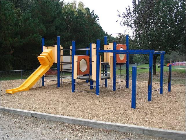 photo of a child's playground