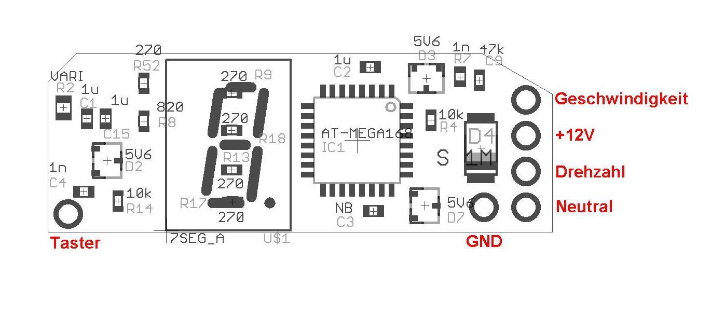 CBR1100XX Cockpit Infos