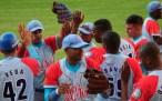 El equipo de Ciego celebra su victoria