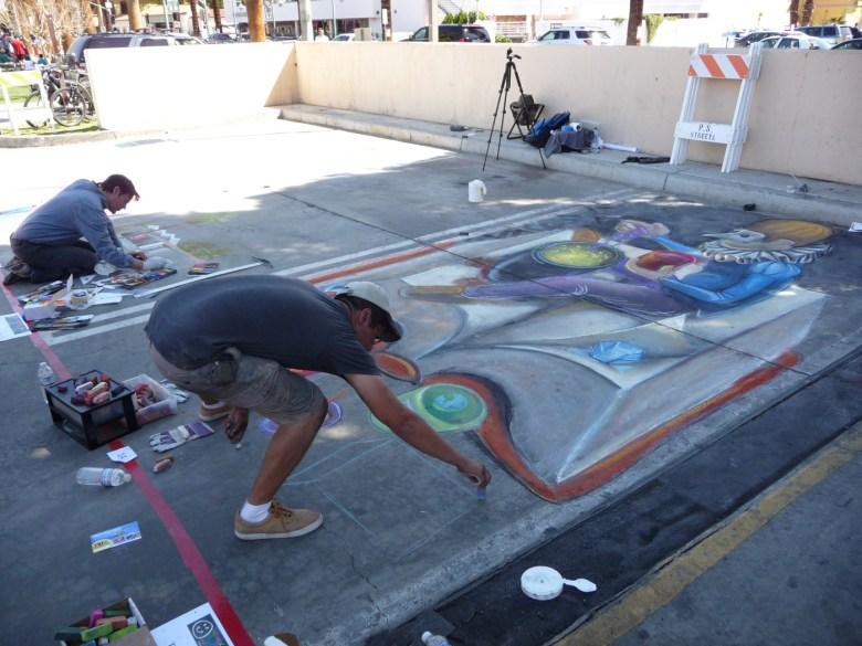 images/Palm Springs Chalk Art Festival 2013/masked-man_8563506306_o