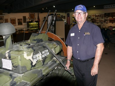 Museum general manager Mike Pierson.