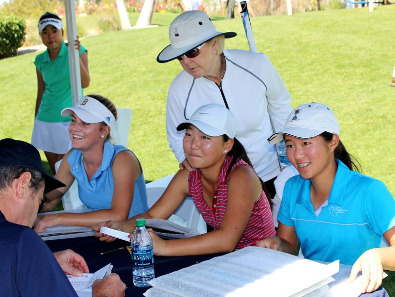 images/Kraft Nabisco Championship Junior Challenge 2014/jiyoon-jang-pat-bradley-and-the-scorecard_13585461175_o