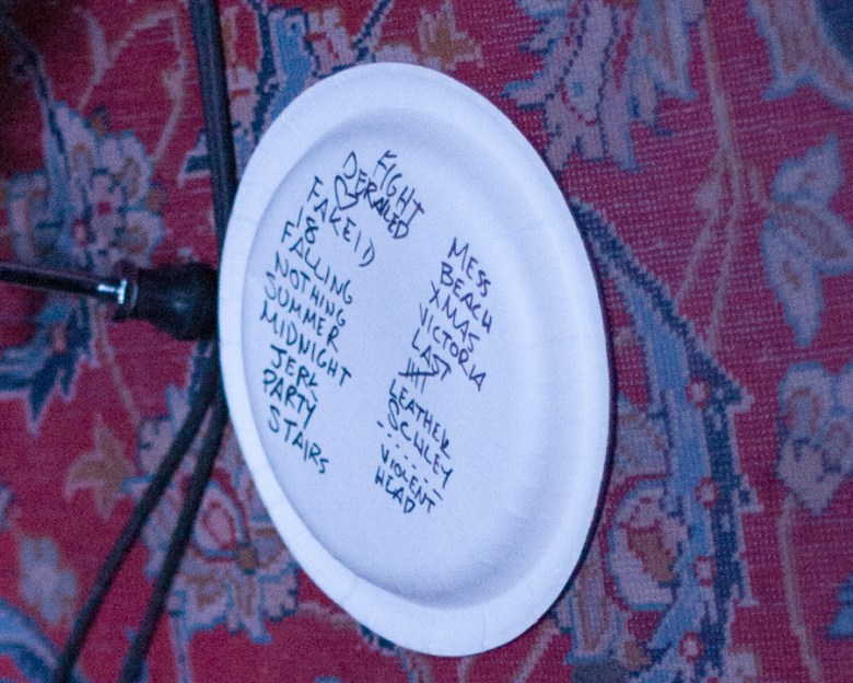 images/Joyce Manor at Pappy and Harriets/SetList