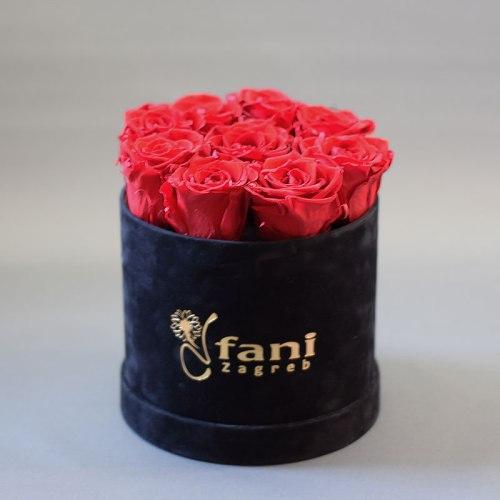 Trajne ruže flower box