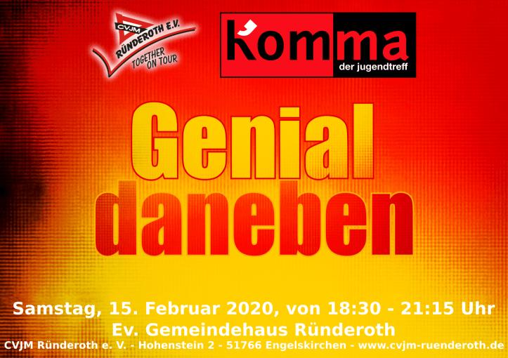 "Kom'ma ""Genial daneben"""