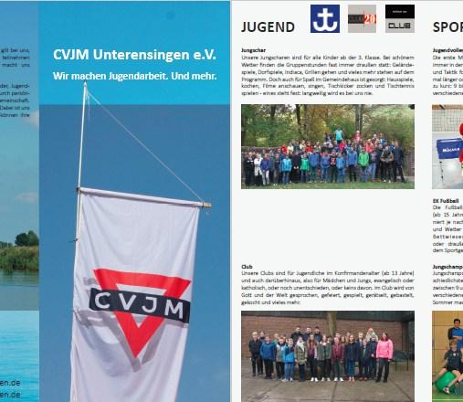 28.05.2017 Neuer CVJM Info-Flyer