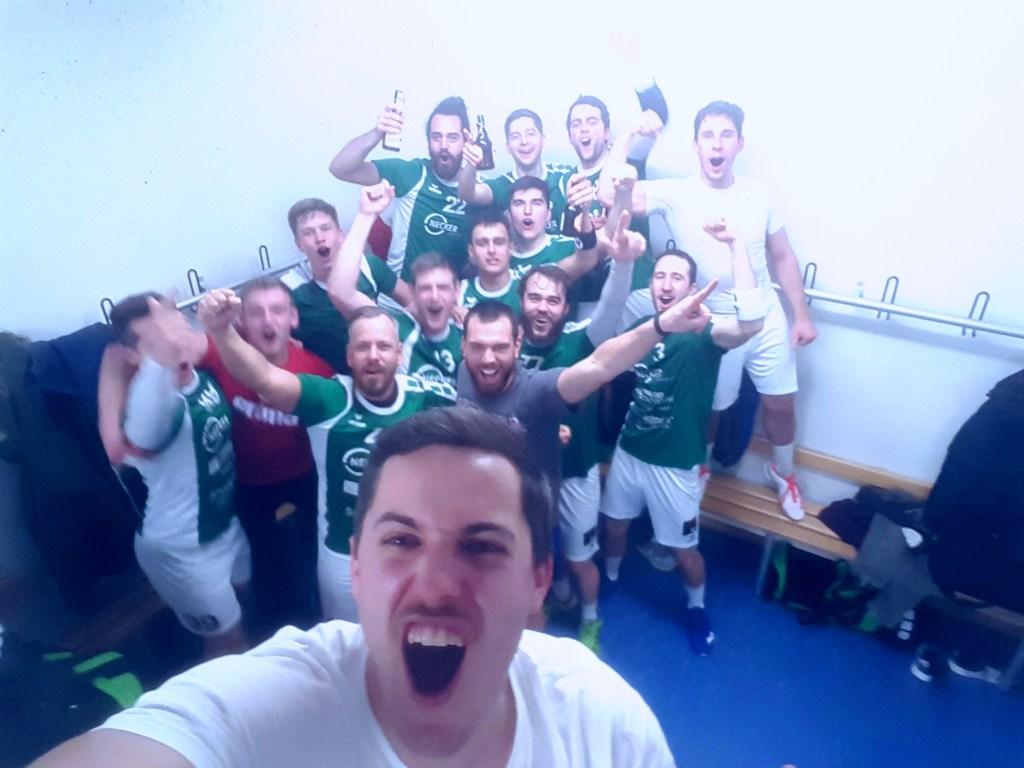Erste Mannschaft Heimsieg gegen EK Köngen