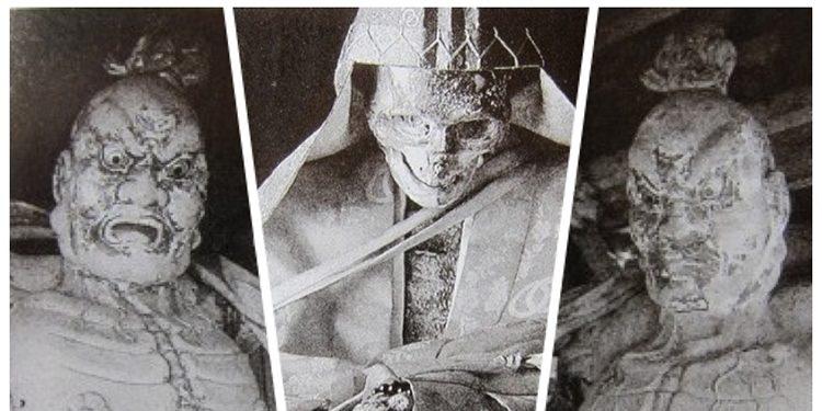 mummified while still alive