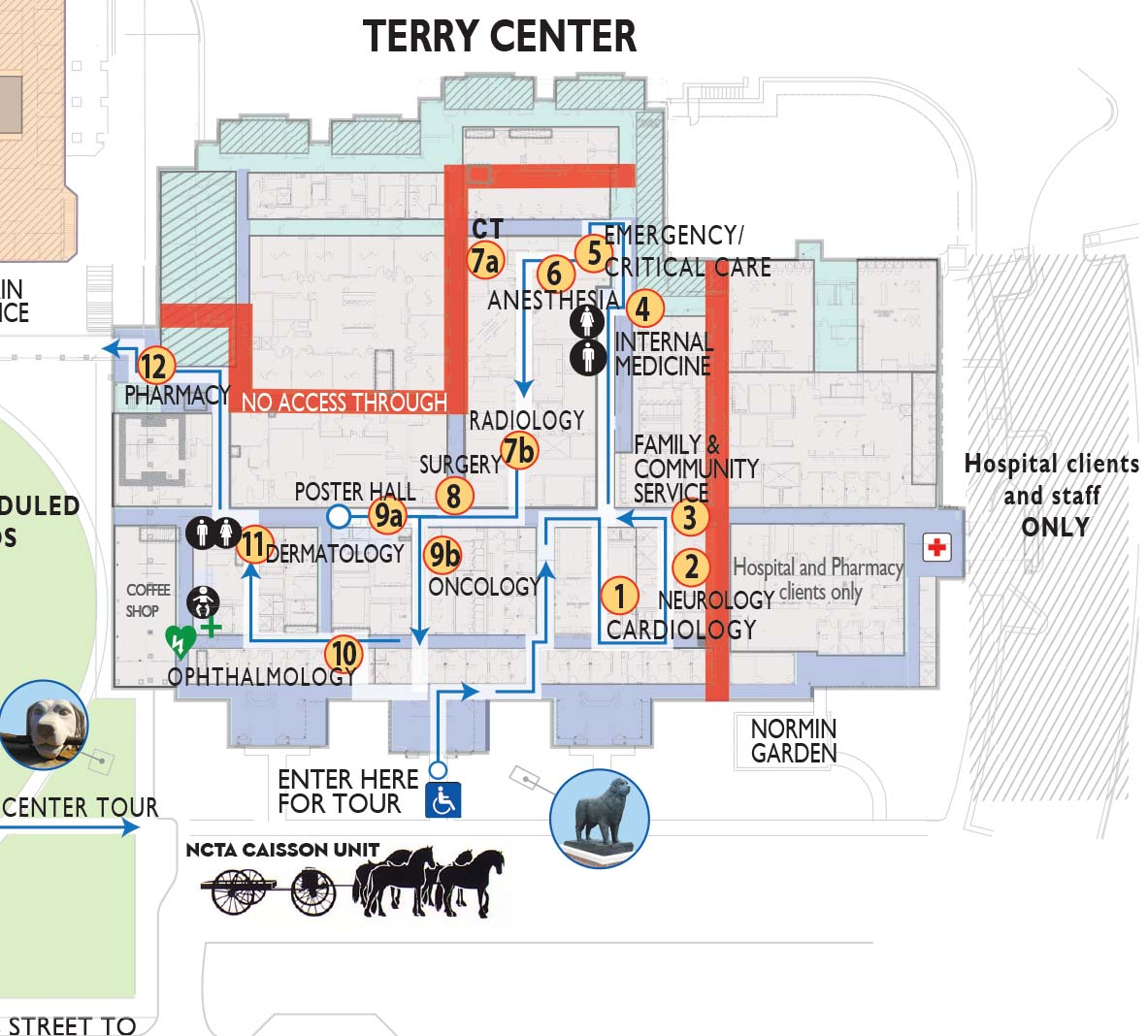 hight resolution of map of terry center