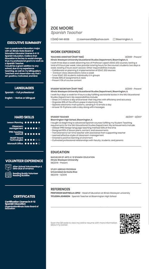 cv linkedin en pdf