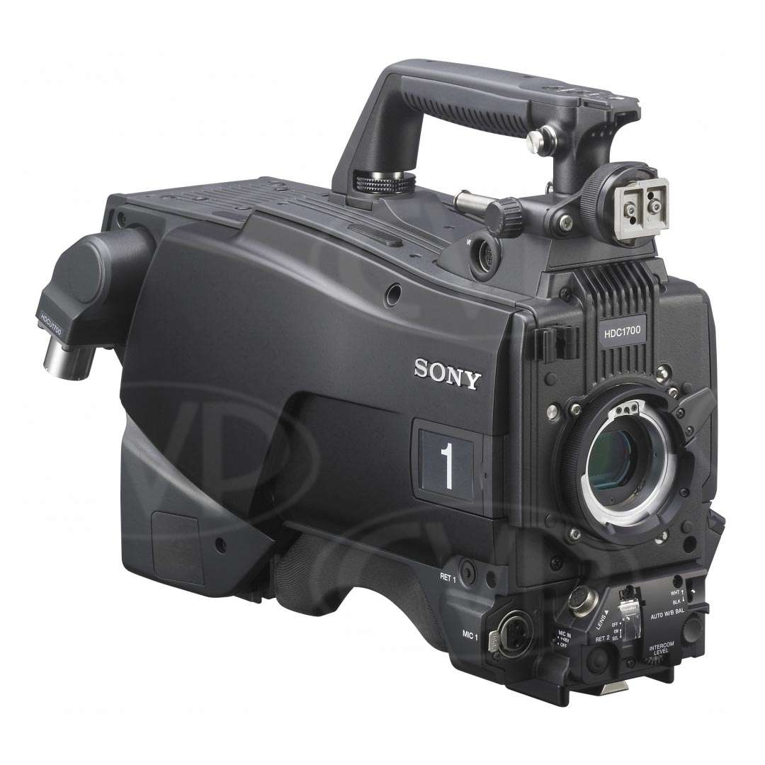 hight resolution of buy sony hdc 1700 u hdc1700 multi format hd system portable camera with 16bit a d converter and smpte 1 5g fibre interface