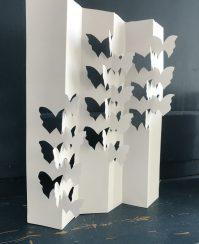 Susan Sandman: Butterflies 1, paper sculpture