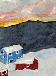 Amy Ehrlich: Sunset