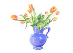 Deb Dwyer: Tulips for Ellen