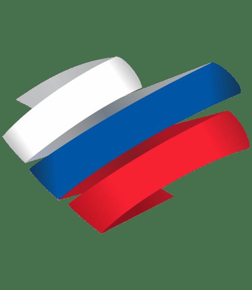 Стилизованный флаг России