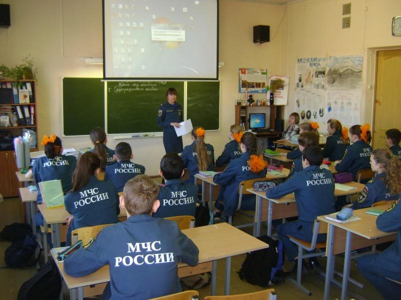 Уроки в кадетском классе (4)