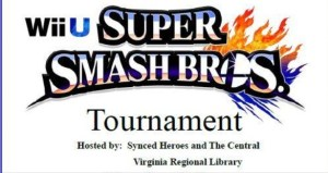 Smash Bros. Tournament @ Farmville-Prince Edward Library
