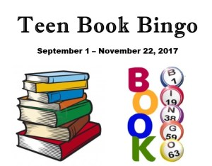 Teen Book Bingo Begins @ Farmville-Prince Edward Library; Buckingham County Library