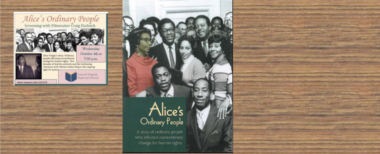 Alice's Ordinary People film showing