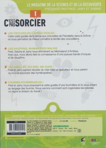 C'est Pas Sorcier Crocodile : c'est, sorcier, crocodile, C'est, Sorcier, Monde, Animal, Vol.1