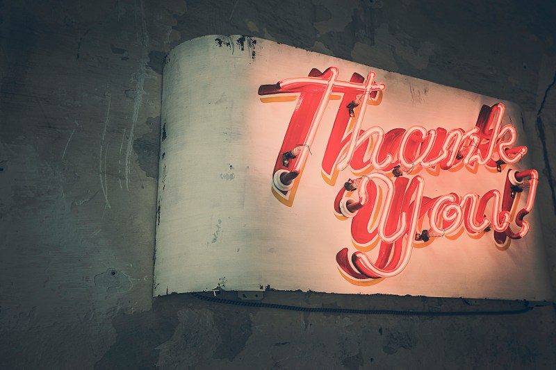 Neon Thank You