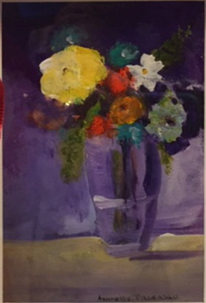 Mini Masters Presentation, 2nd Place - Annette Farasso - Tiny Flowers in Vase