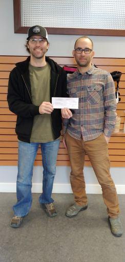B.D. Mitchell Donates $1000 to CVWSS