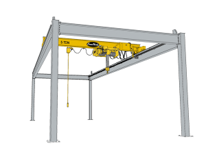 Free Standing Workstation Crane