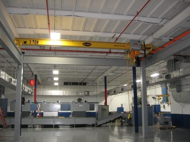 Workstation Crane Systems : Workstation bridge cranes overhead crane systems cranewerk