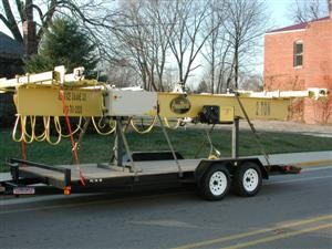 *Cranes that have an end truck length of over 8 ft. will be disassembled for shipping