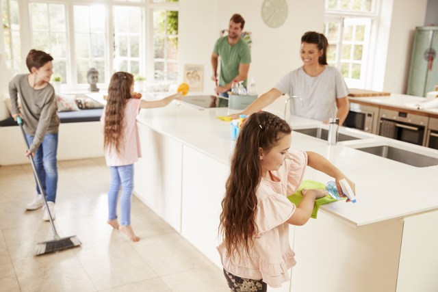 Want a Clean Home? How to Get Your Whole Family On Board