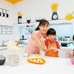 Kitchen Kid Anti Fatigue Mats 宋雅雯 廚房玩出好自信 學前兒 健康與營養 親子天下