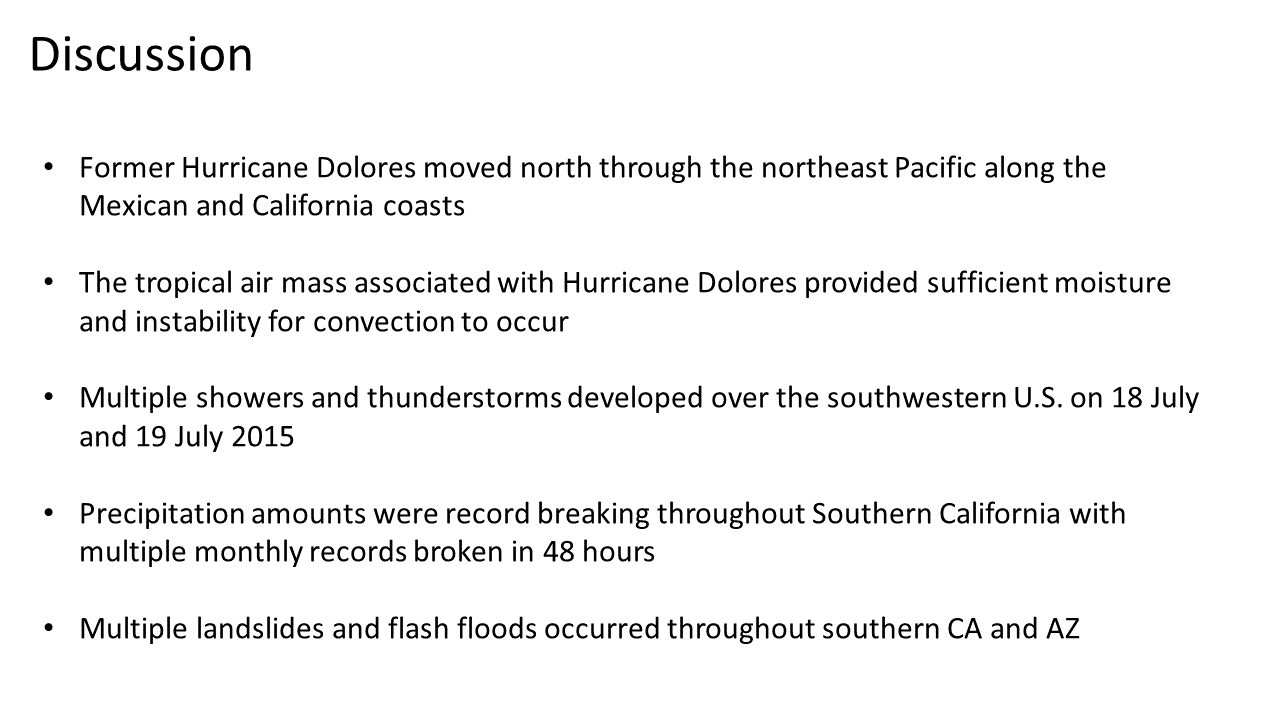 hight resolution of Southern California Storm of 18-20 July 2015: A Synopsis of Record Breaking  Precipitation – Center for Western Weather and Water Extremes