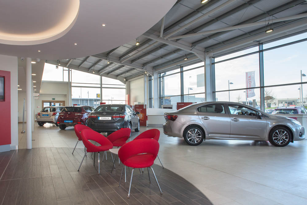 Caulfield Wright Architects Dublin architects dublin Ireland car dealerships commercial architect energy efficiency architecture