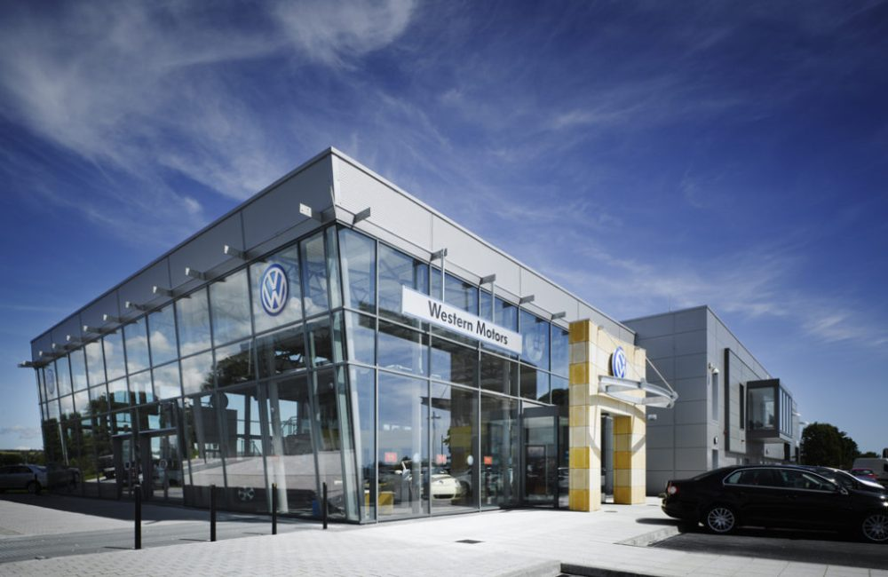 Caulfield Wright Architects Dublin architecture retail parks architects dublin enterprise architect Ireland
