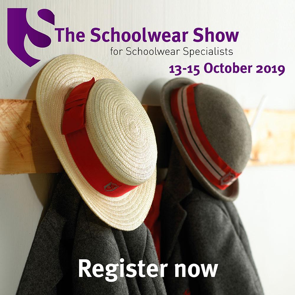 Schoolwear Show Advert Hats