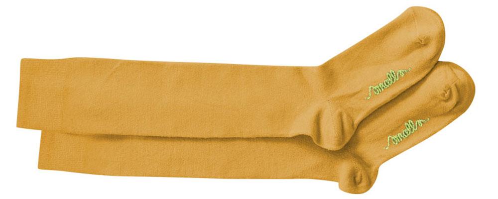 Smalls yellow merino wool socks