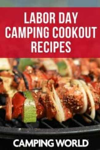 Labor Day Camping Cookout Recipes