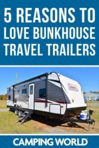 5 reasons to love bunkhouse travel trailers