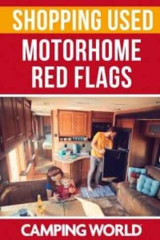 Shopping Used - motorhome red flags