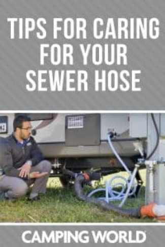 Tips for caring for your sewer hose