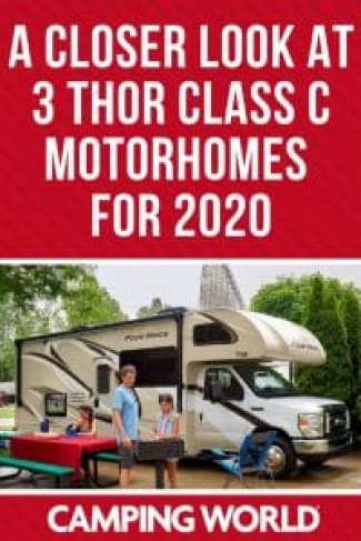 A closer look at 3 Thor Class C motorhomes for 2020