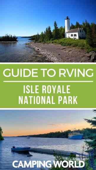 Camping World's guide to Isle Royale National Park