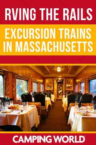 Excursion trains in Massachusetts