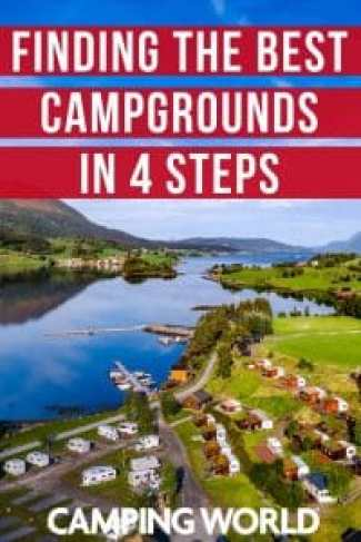 Find the best campgrounds in 4 steps